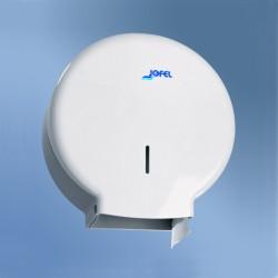 Distributeur papier WC Maxi Jumbo ABS blanc