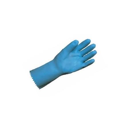gant latex bleu taille s 6 7 sur jersey coton sachet de 12 paires disprotech. Black Bedroom Furniture Sets. Home Design Ideas