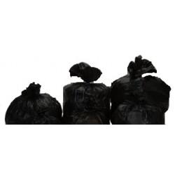 Sac poubelle 110L Noir BD 50µ  1 x 200 unités