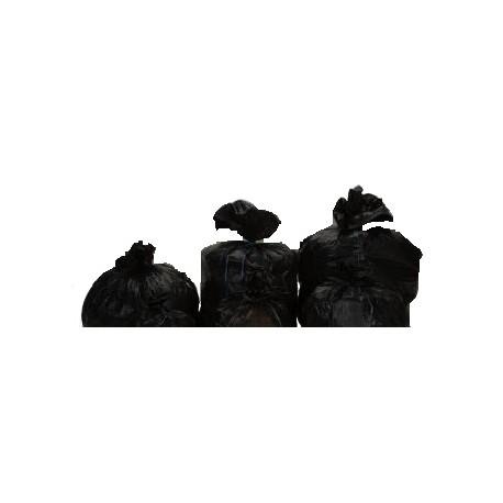 sac poubelle 150l noir 75 1 x 100 unit s disprotech. Black Bedroom Furniture Sets. Home Design Ideas